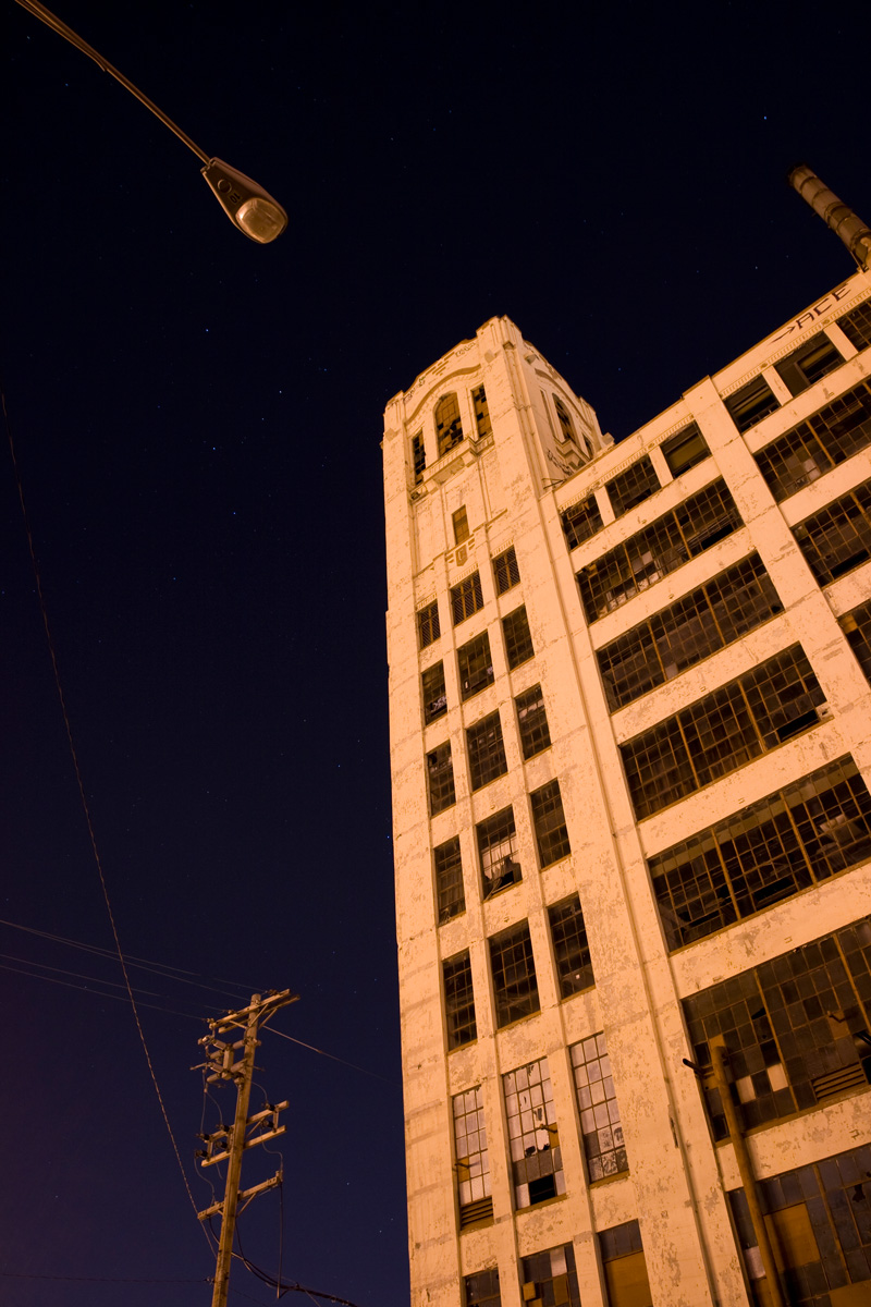 The Crosley building's 10 story tower