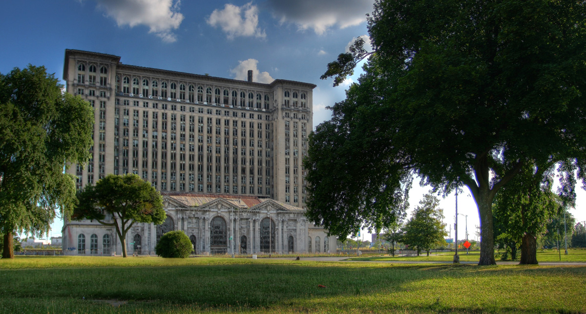 Detroit: Abandoned Michigan Central Station