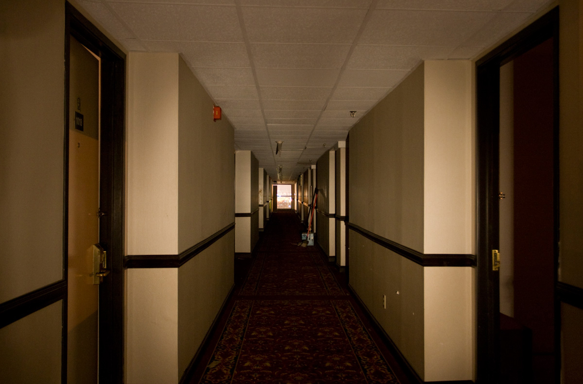 Cincinnati North Hotel, Creepy Hallway